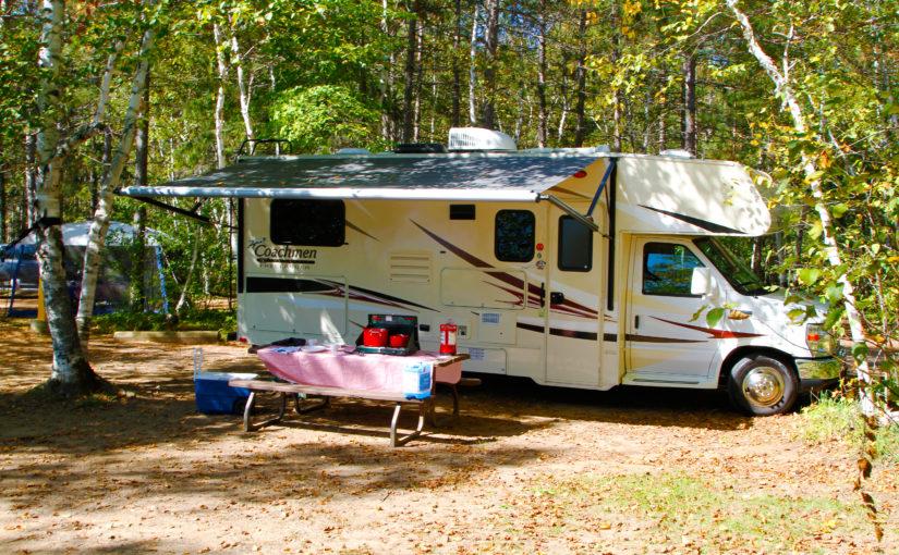 Le moment est idéal pour aller faire du camping en VR dans un des parcs de  Parcs Ontario
