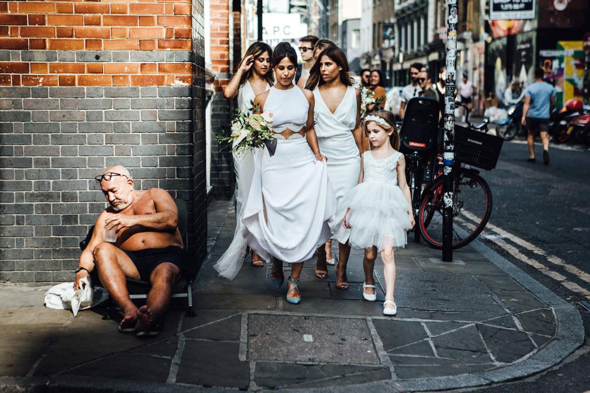 Tatum & David's Ace Hotel wedding in Shoreditch