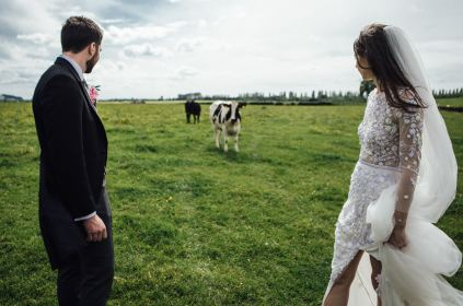 English countryside wedding photography | Luxury festival wedding