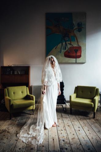 Donatelle Godart wedding dress | East London wedding photographers SP