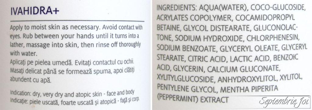 gel-de-curatare-ivahidra-ivatherm-ingrediente
