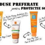 4 produse preferate pentru protectie solara