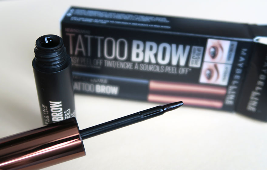 Maybelline brow tattoo aplicator