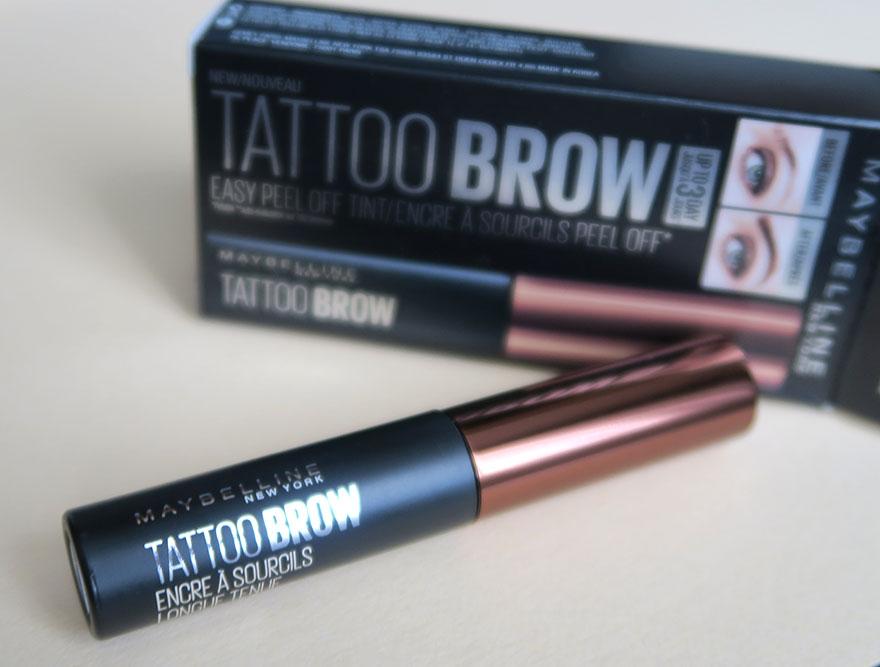 [Primele impresii] Maybelline Brow Tattoo - vopsea temporara pentru sprancene