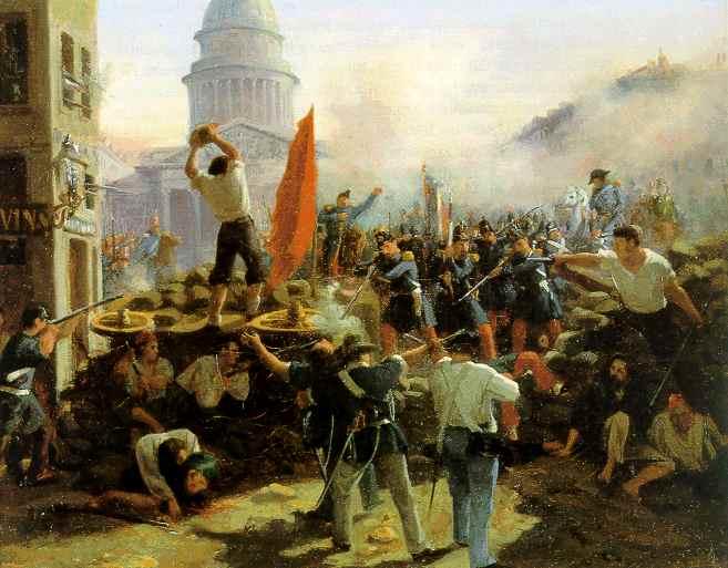 Париж 1848