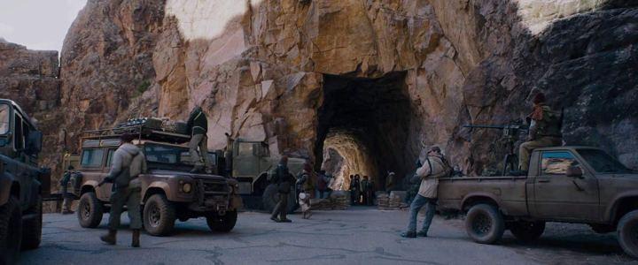 Scène du film Le Labyrinthe: La Terre Brûlée