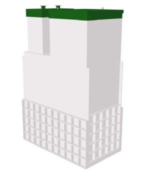 Септик ТОПАС 15 Long Пр Ус - Топол Эко автономная канализация