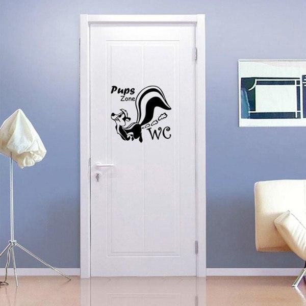 Как обновить дверь в ванную комнату: подборка идей на фото