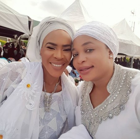 Actress Fathia Balogun Conferred With Chieftaincy Title Of Atesin'se Adinni In Ogun State