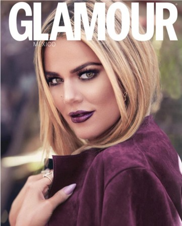 Khloe Kardashian Smolders On The Cover Of Glamour Mexico's Latest Issue