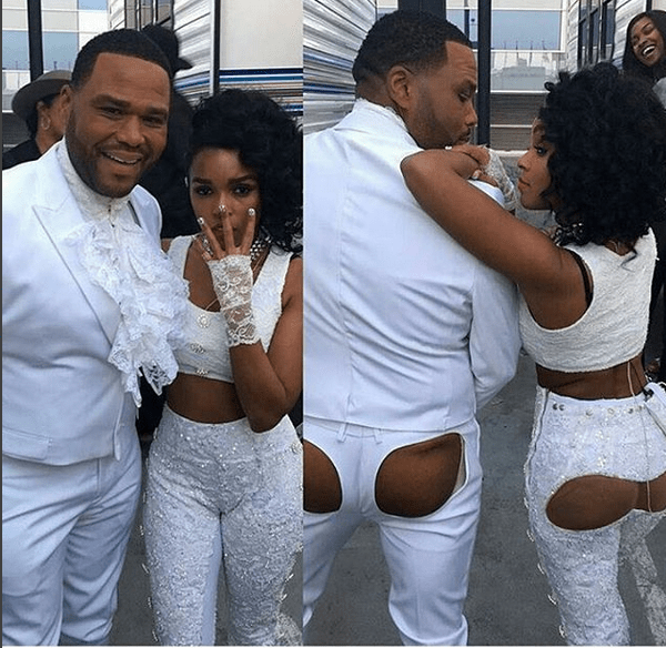 Photos: Anthony Anderson And Janelle Monae Twerk With Bare Butt At BET Awards