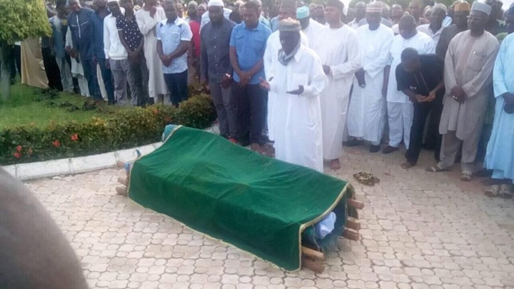 Photos From Amodu Shuaibu's Burial