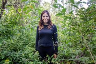 Mercedes Rodríguez, artista plástica y madre de un niño