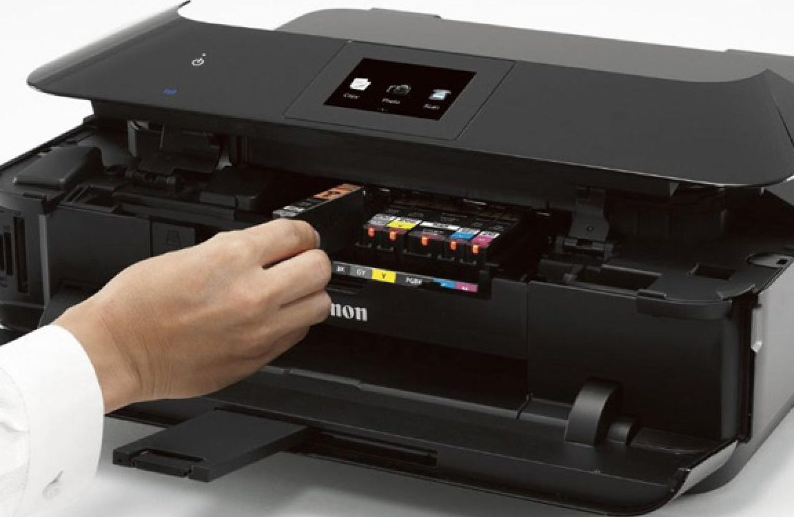 Ciri Ciri Cartridge Printer Canon Rusak
