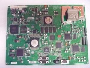 Broken tv main printed circuit board for tv repair
