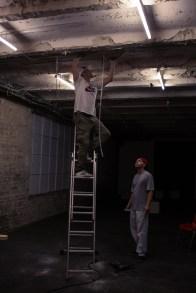 04.09.13 - Installation des Beamers