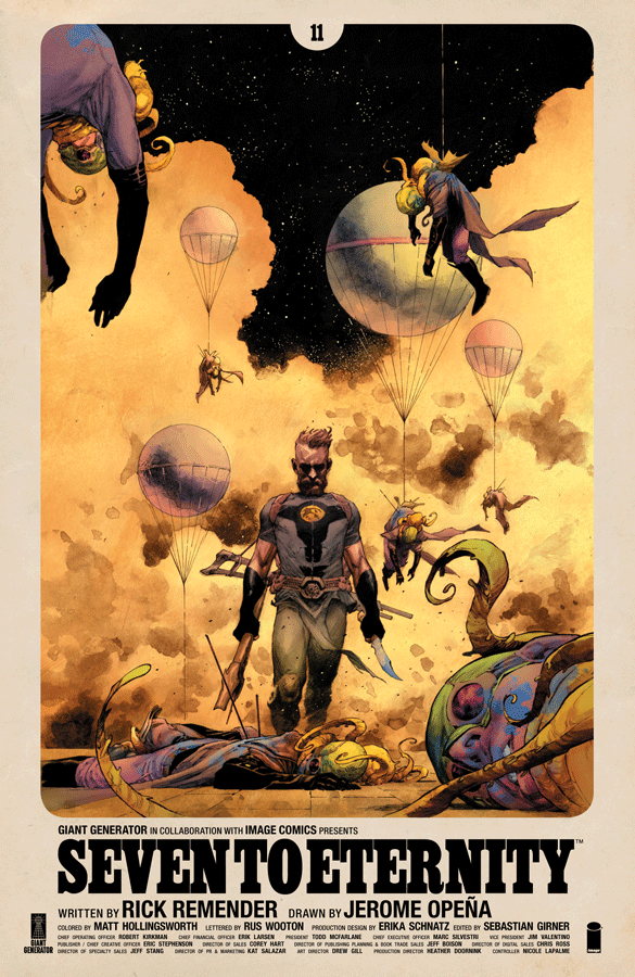 Comic Review: Seven To Eternity #11 - Sequential Planet