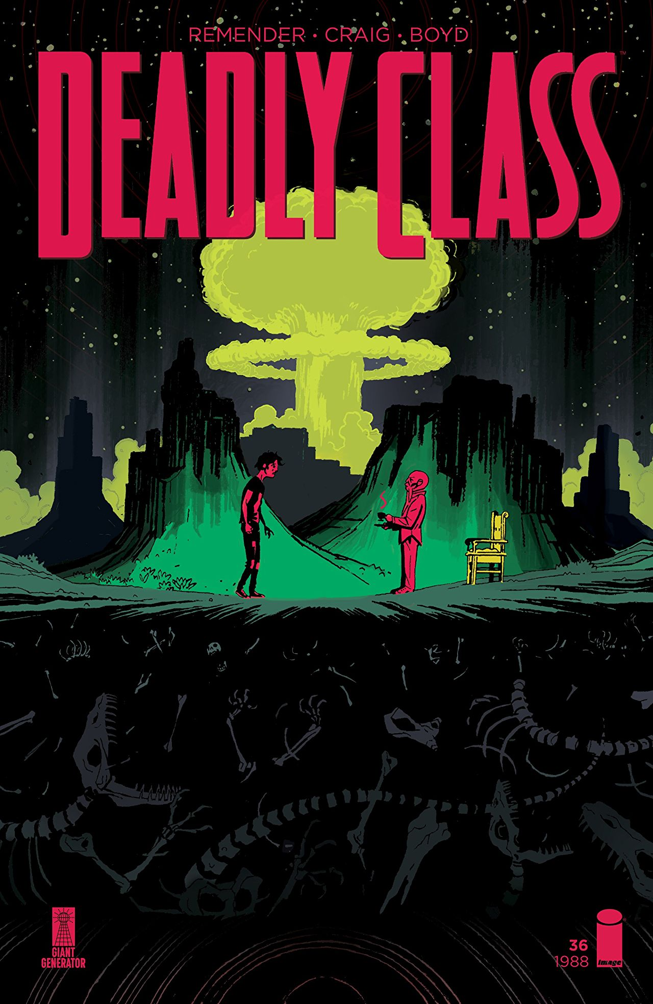 Comic Review: Deadly Class #36 - Sequential Planet