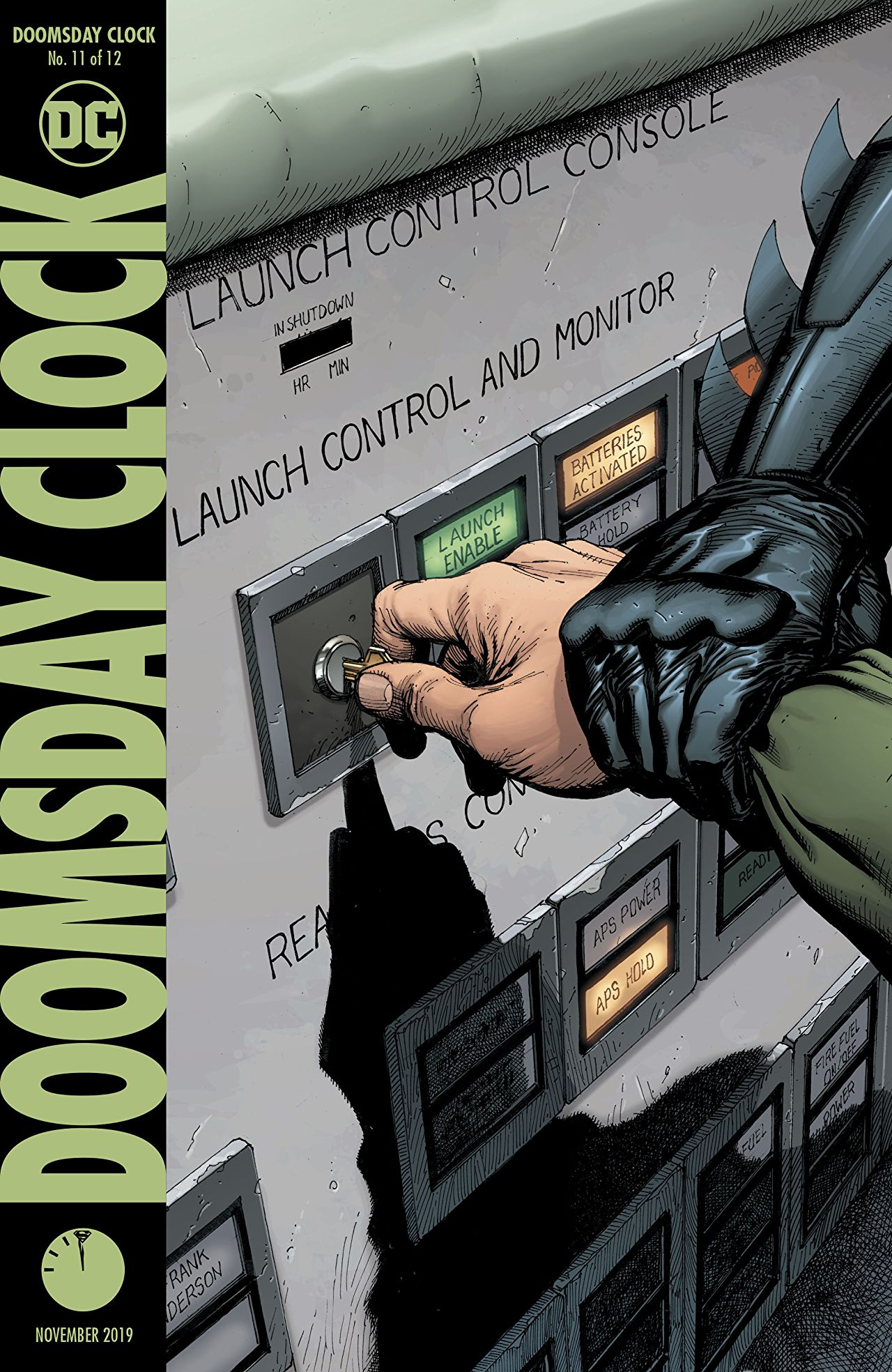 Comic Review Doomsday Clock 11 Sequential Planet