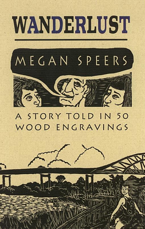 cover to wanderlust by megan speers