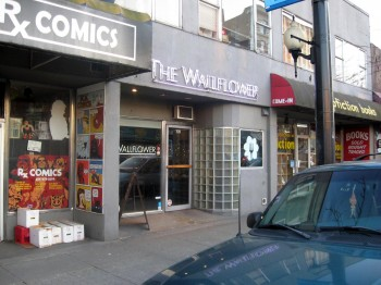 The Wallflower, home of the monthly comic jams