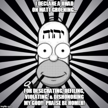 All Hail Bob God Homer