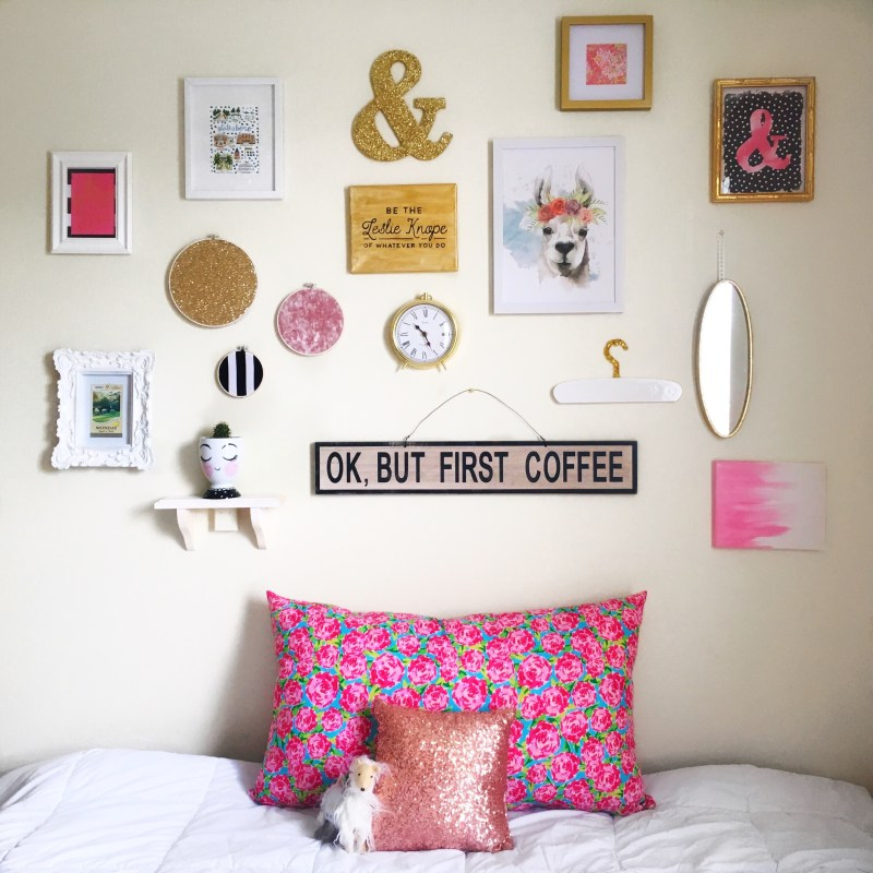 DIY Gallery Wall for Less Than $100