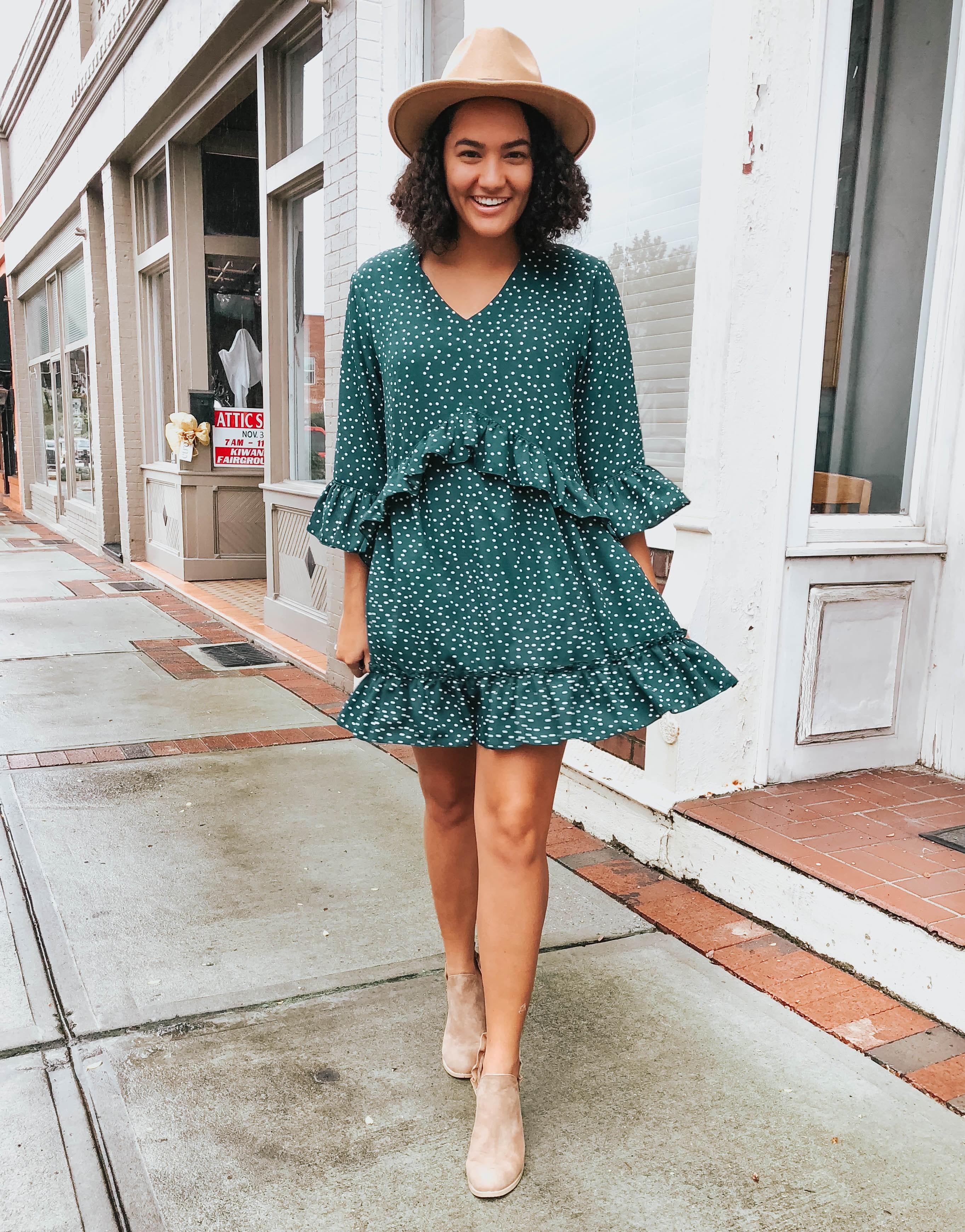 polka-dot-ruffle-dress-amazon-fashion-two