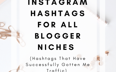 80+ Instagram Hashtags For All Blogger Niches