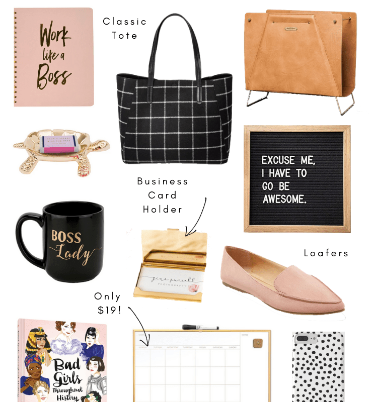 Holiday Gift Guide – Gifts for the Girlboss