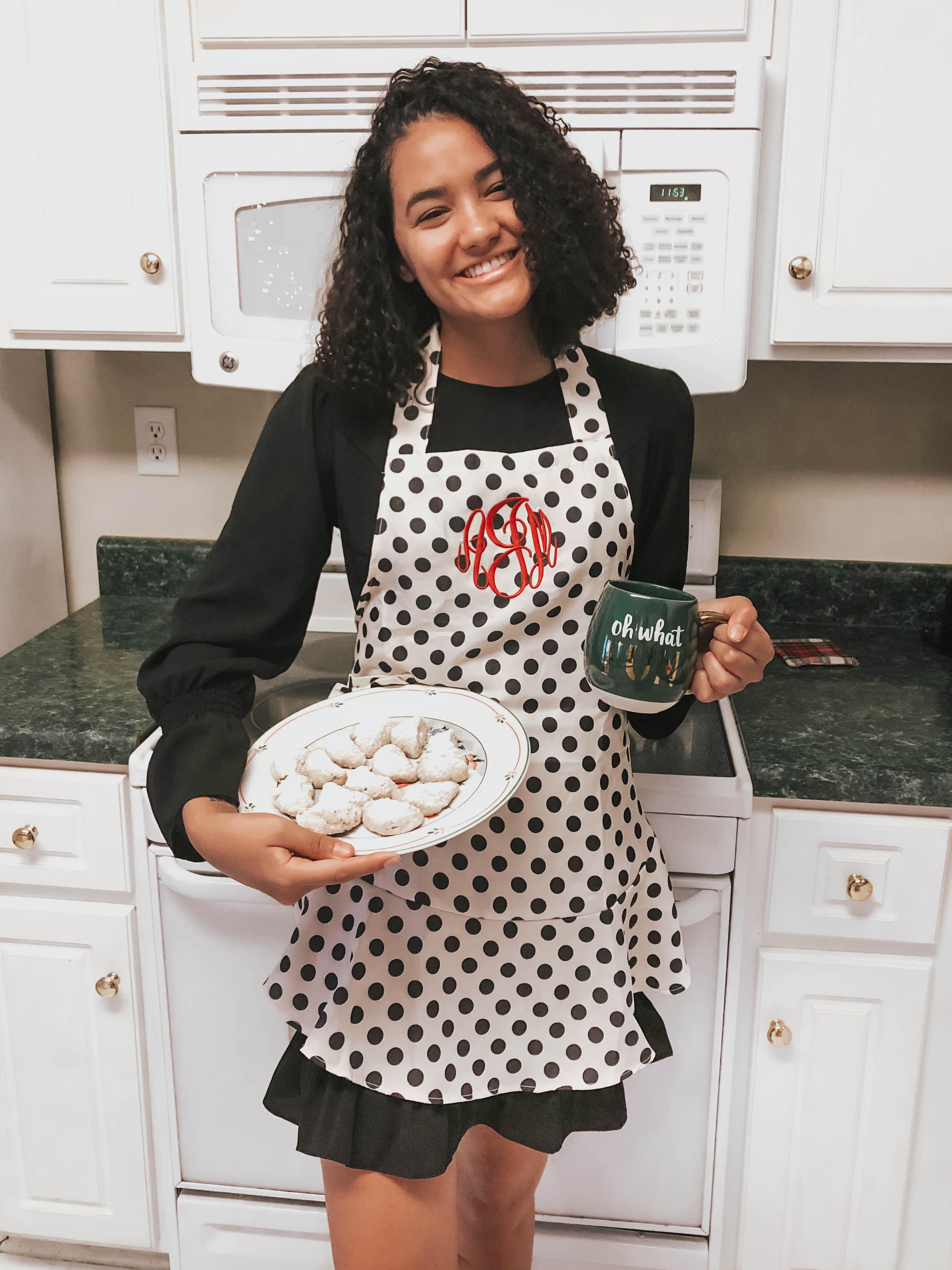 girl-holding-plate-of-pecan-shortbread-meltaway-cookies