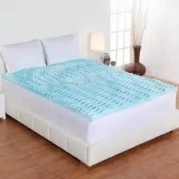 Full size mattress topper.