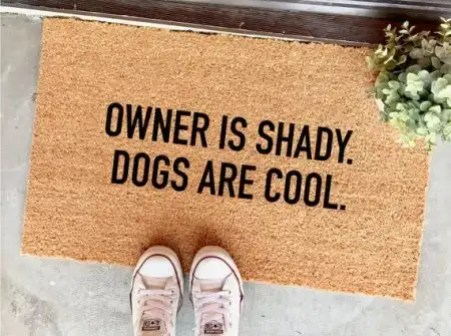 owner-is-shady-dogs-are-cool-doormat-ten-cute-and-sassy-doormat-ideas