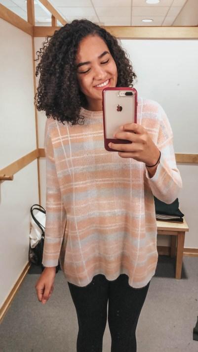 pink-plaid-sweater-loft