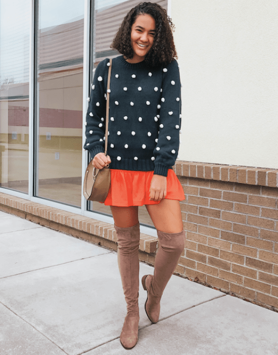 pom-pom-sweater-twenty-winter-outfit-ideas