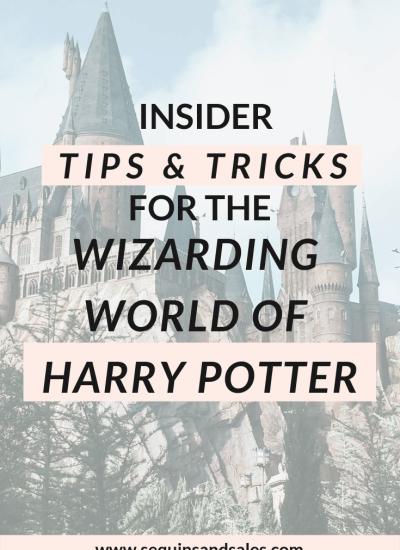 Insider Tips for the Wizarding World of Harry Potter
