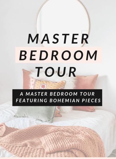 Modern Master Bedroom Tour