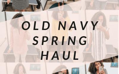 Old Navy Spring Haul