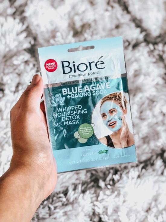 Biore Agave + Baking Soda Whipped Nourishing Detox Mask