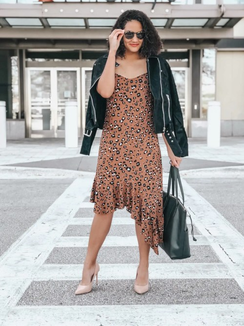 Leopard Print Asymmetrical Dress Five Easy Ways to Get Accepted To RewardStyle and LIKEtoKNOW.it