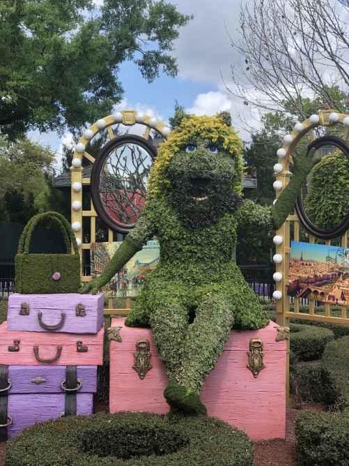 Captain Hook Topiary Disney's Flower and Garden Festival