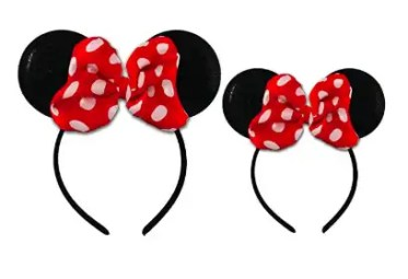 Mommy and Me Minnie Mouse Ears
