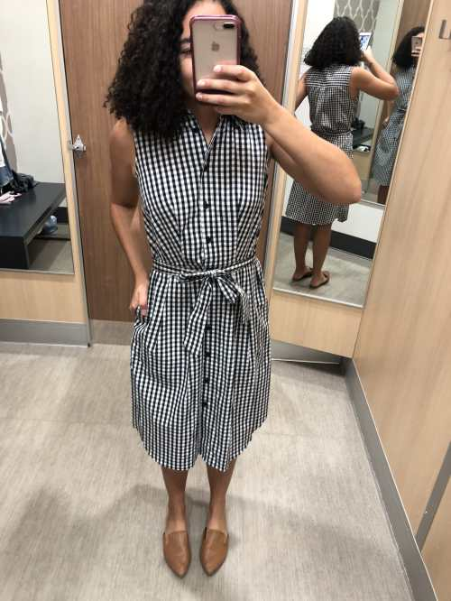 Gingham Midi Dress Target Try-On Haul