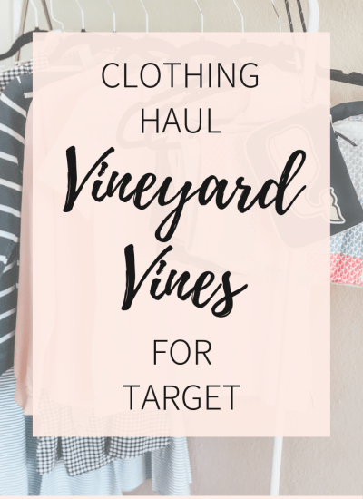 Vineyard Vines for Target  Clothing Haul