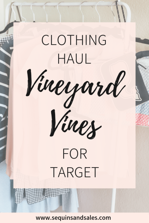 Clothing Haul Vineyard Vines for Target Cover Photo