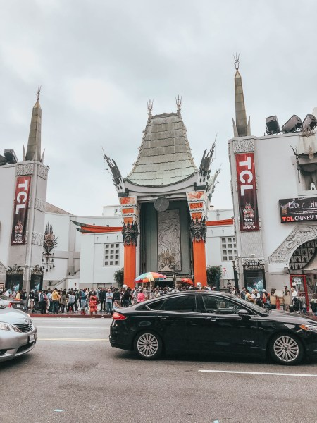 Chinese Theatre Hollywood Walk of Fame