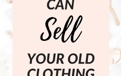 5 Great Apps to Sell Your Old Clothing