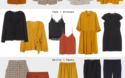 How to Create a Fall/Winter Business Casual Capsule Wardrobe