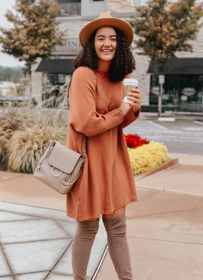 The Perfect Thanksgiving Sweater Dress Under $50