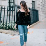 How To Wear Velvet For The Holidays Sequins Stripes By Liz Adams